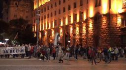 Протест 84-и ден: София, Бургас, Велико Търново искат оставка след доклада на ЕК