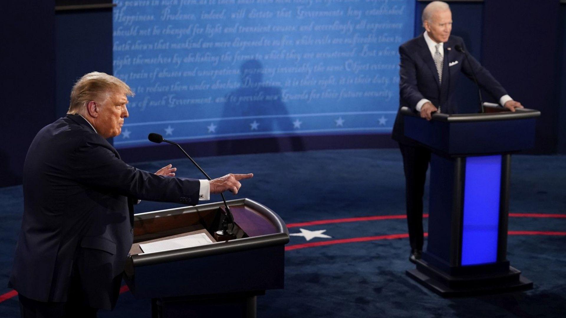 Байдън обвини Тръмп, че  не е осъдил белите  супремасисти