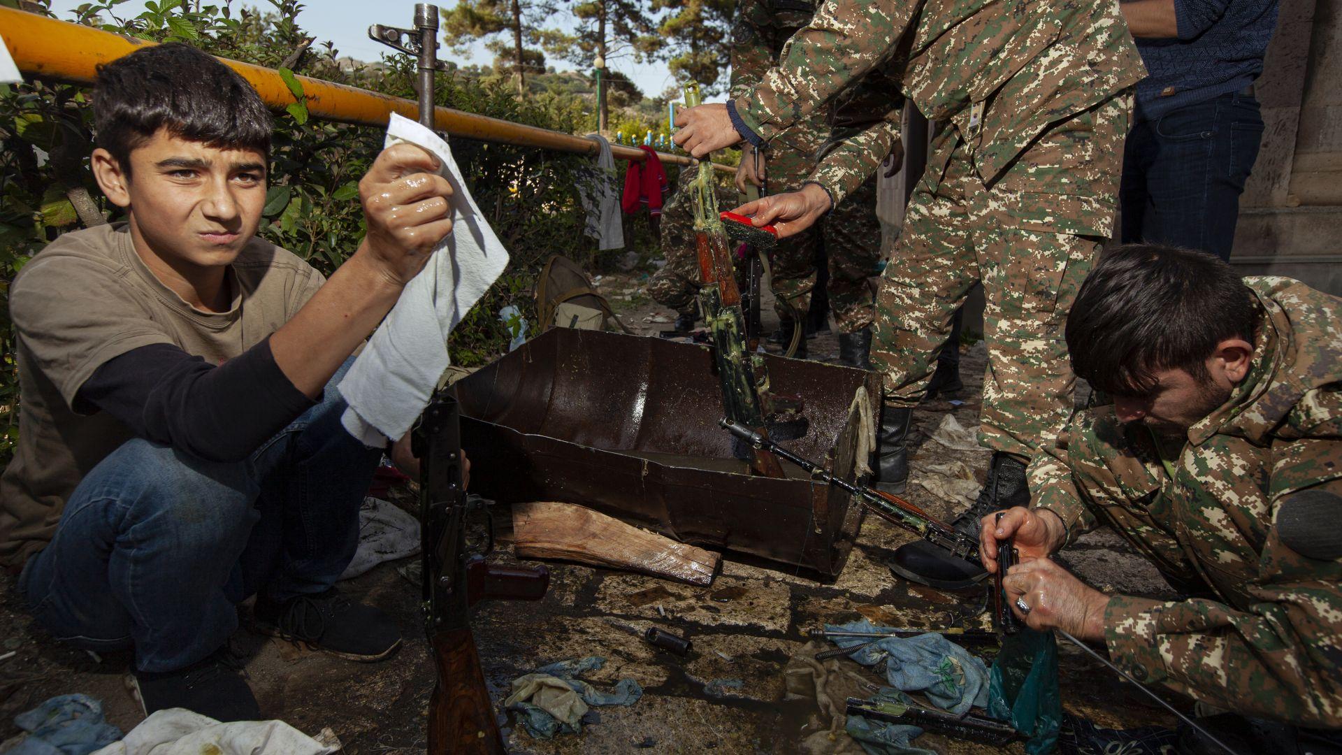 Русия: Прехвърлят се чуждестранни наемници от Сирия и Либия в Нагорни Карабах