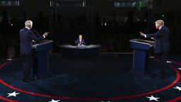 Дебатът Тръмп-Байдън гледан от 73 млн. души - доста по-малко от този с Хилари Клинтън