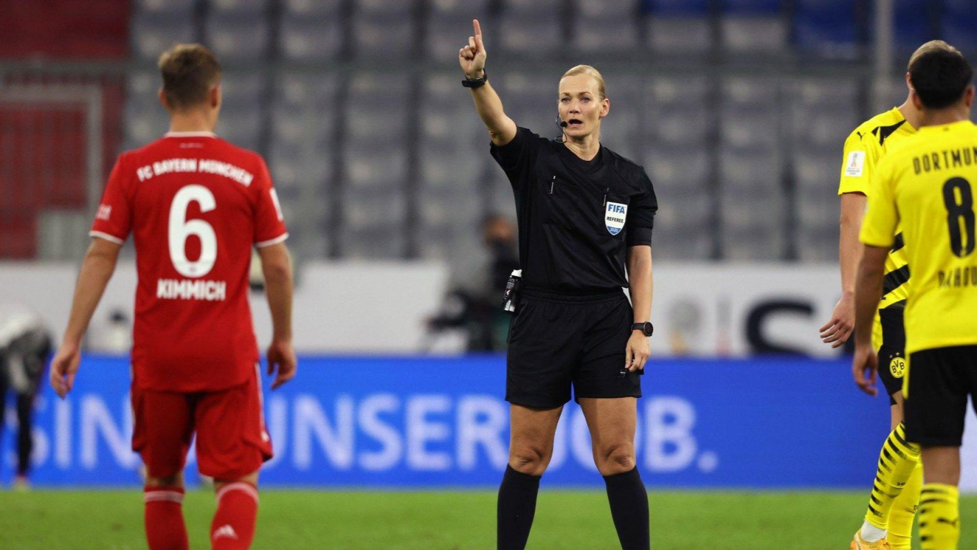 В Иран не излъчиха германския финал, защото реферът бе жена