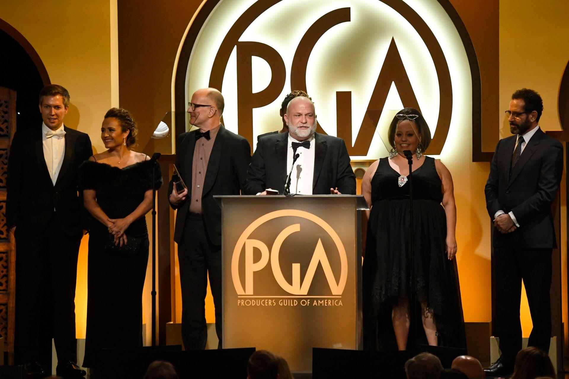 продуцентът Том Кемпбъл на 31-те награди на американската Гилдия на продуцентите