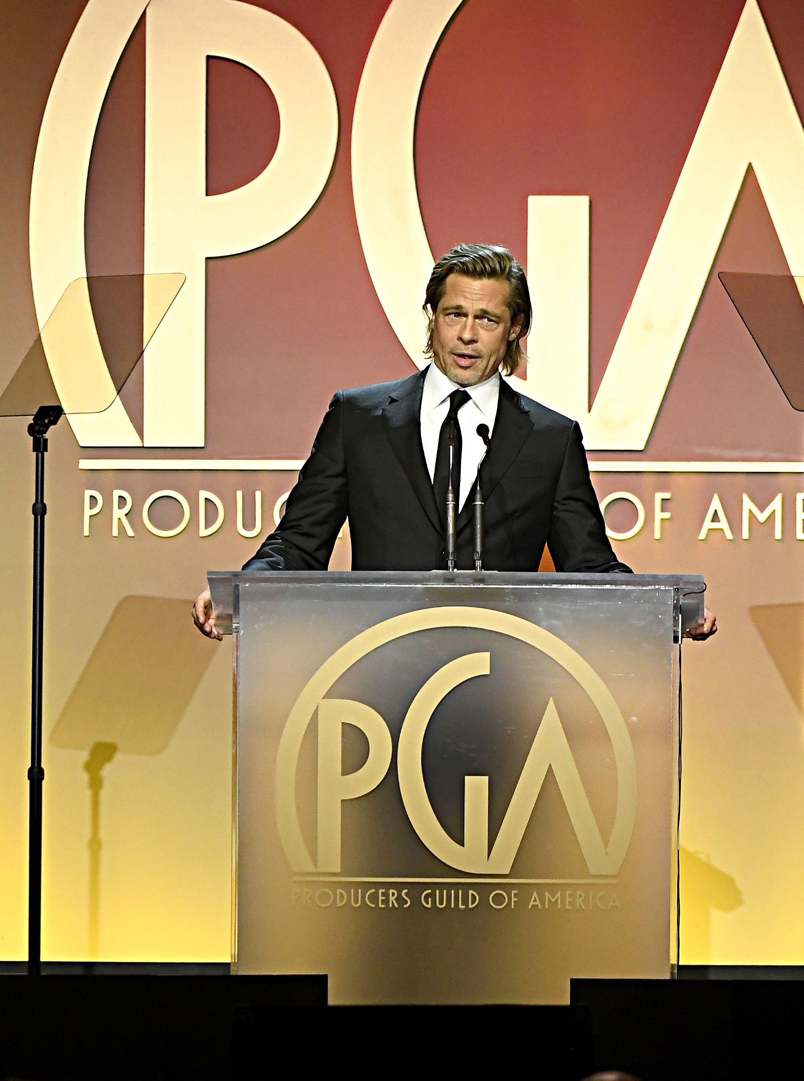 Брад Пит на 31-те награди на американската Гилдия на продуцентите
