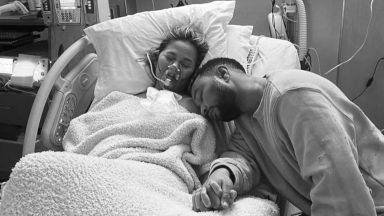 Съпругата на Джон Леджънд - Криси Тейгън, направи спонтанен аборт
