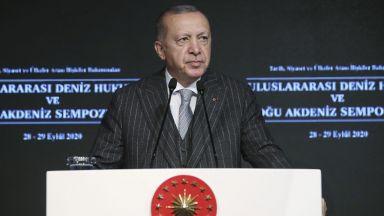 Ердоган: Ислямофобията е болест, която се разпространява по-бързо от COVID-19
