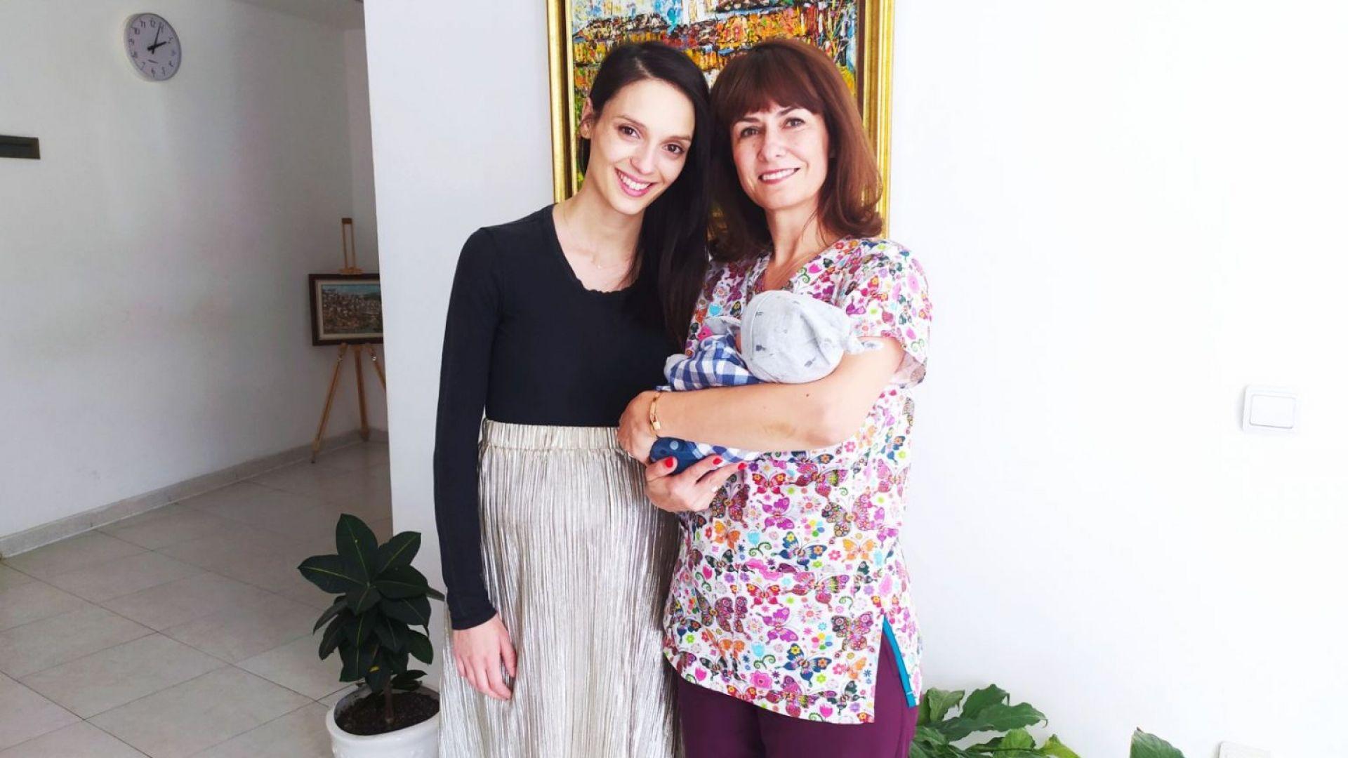 Луиза Григорова обясни на кого е кръстила новородения си син