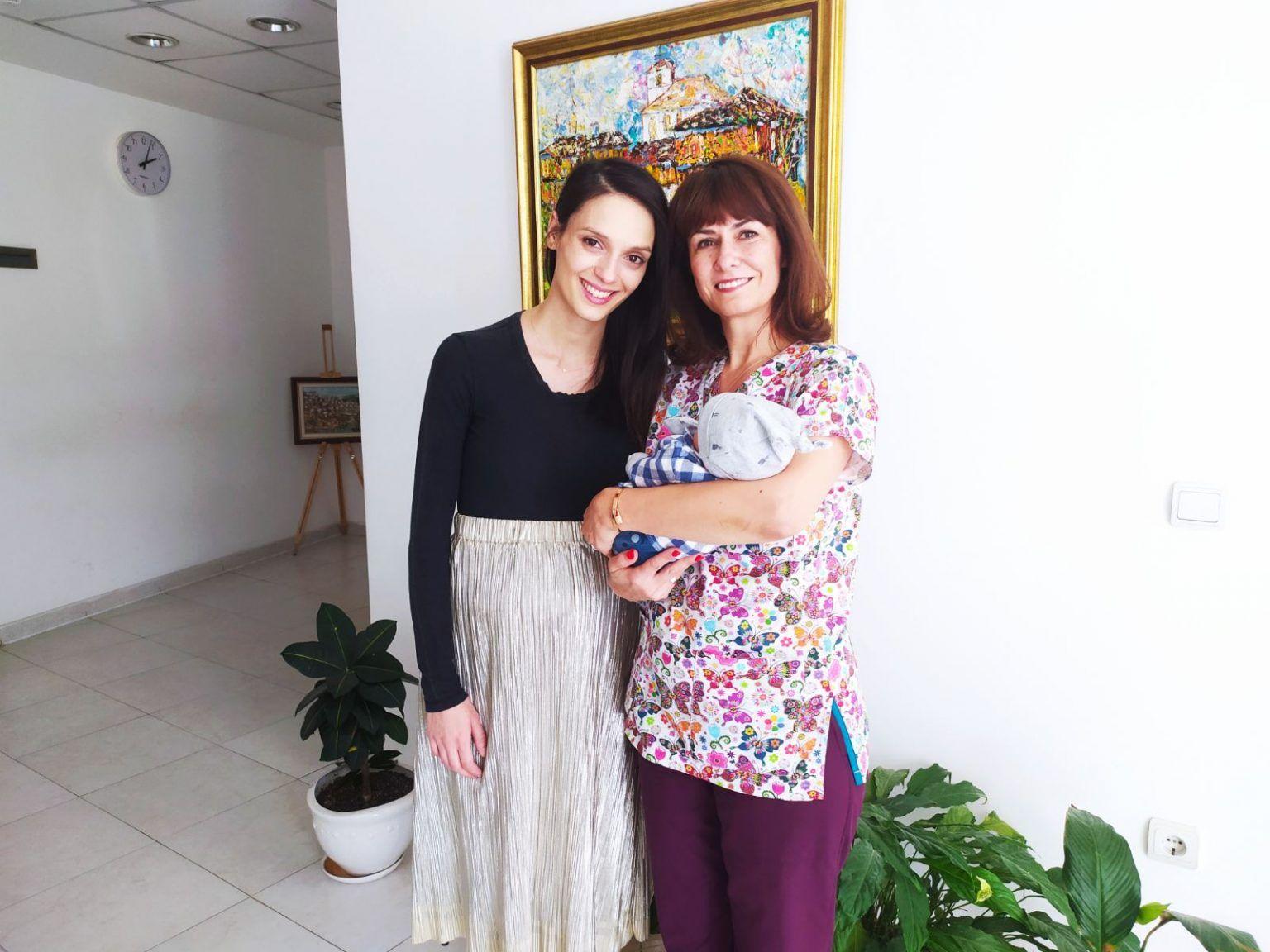 Луиза Григорова и  д-р Светлана Лекова