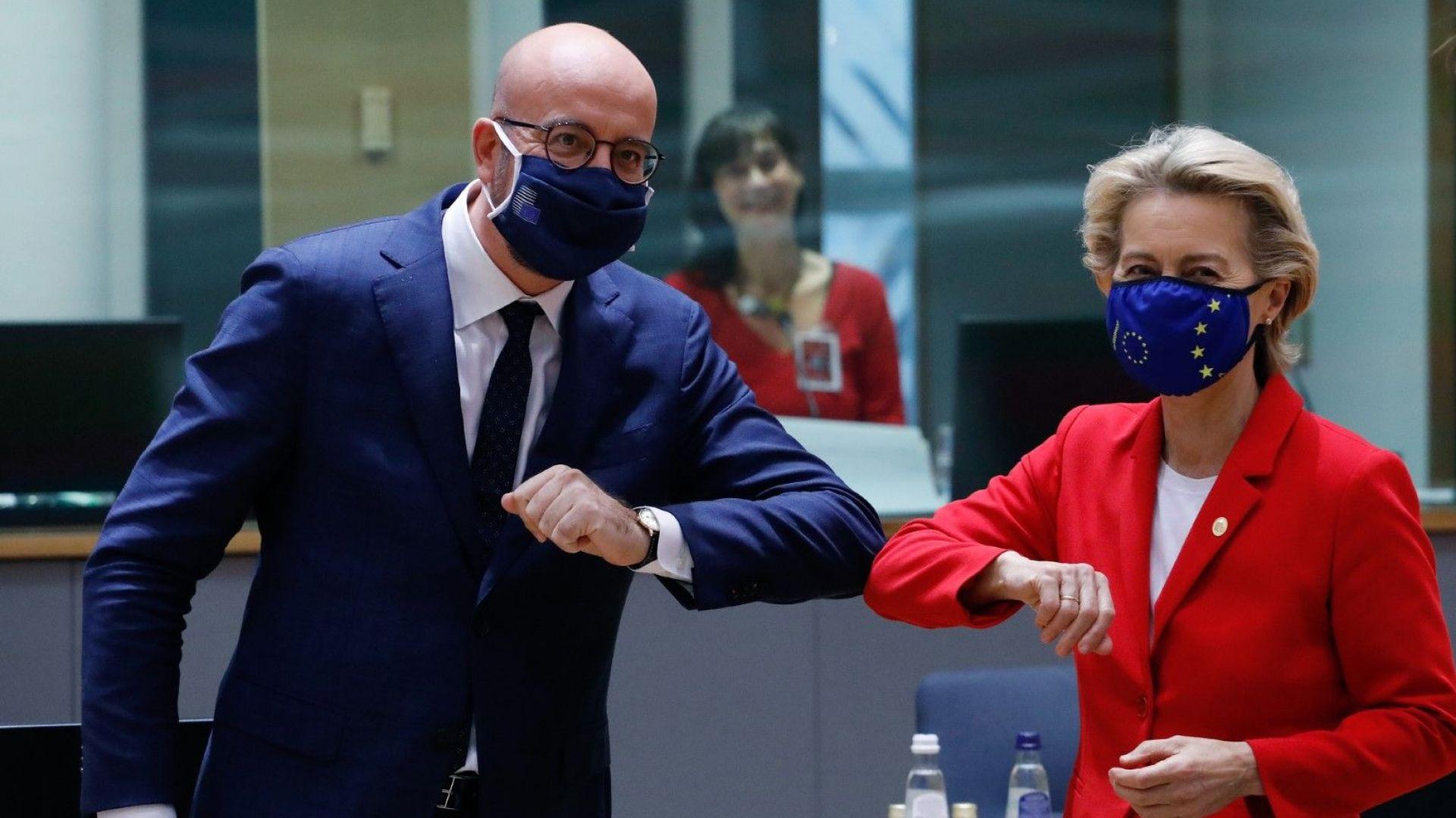 ЕС се събира на ключов съвет за Брекзит, Зелената сделка, цветната карта