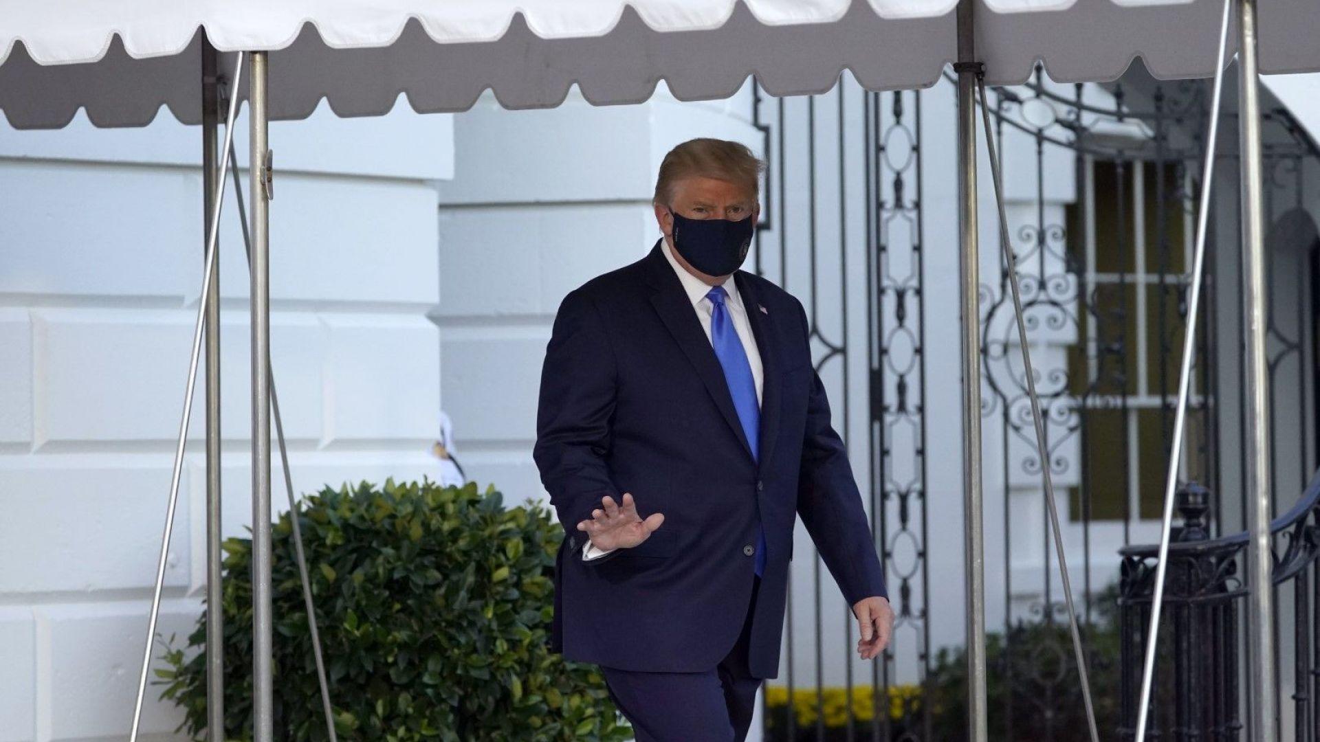Противоречива информация за състоянието на Доналд Тръмп