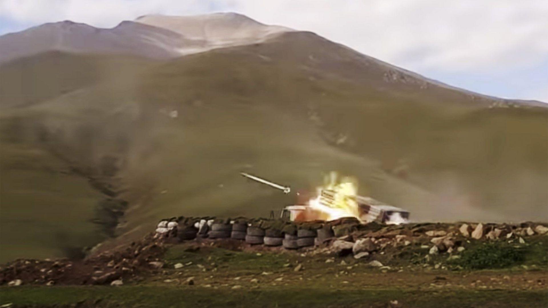 Нови удари разтърсиха столицата на Нагорни Карабах