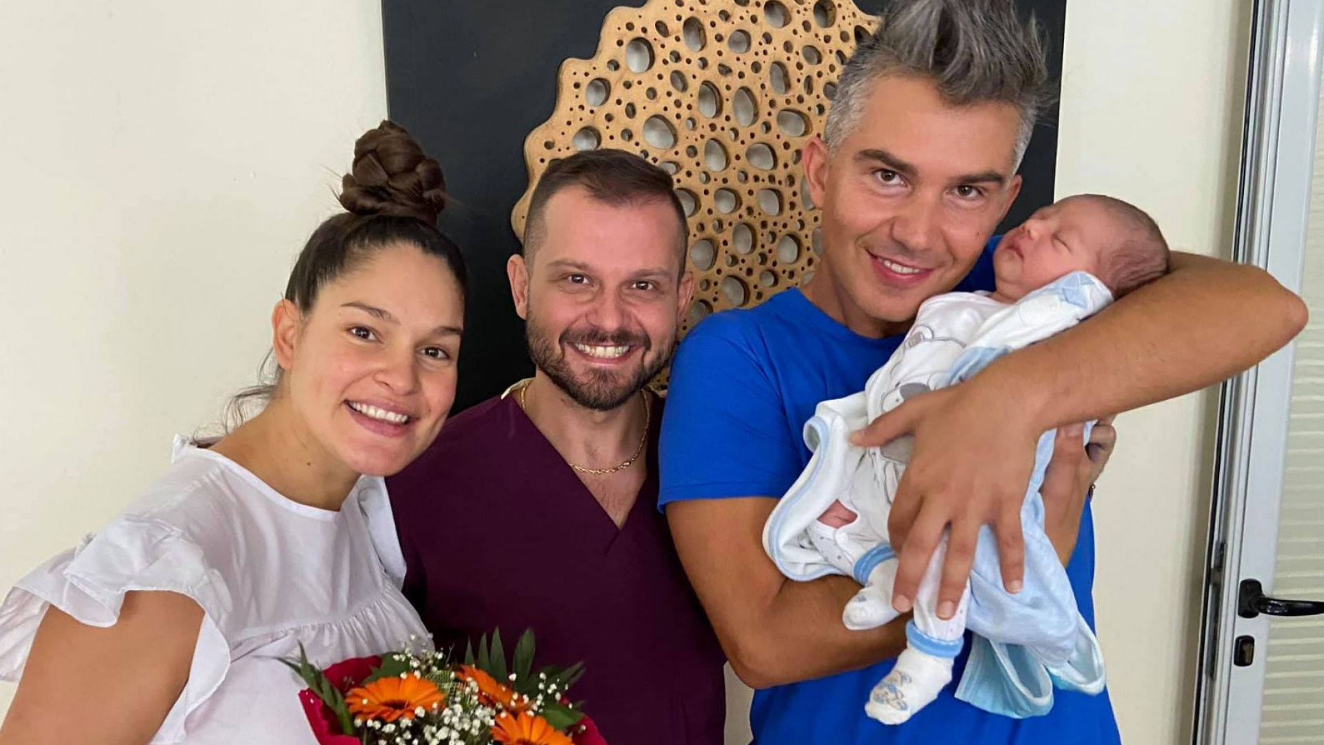 Весела Бонева и Явор Велчев станаха родители (снимки)