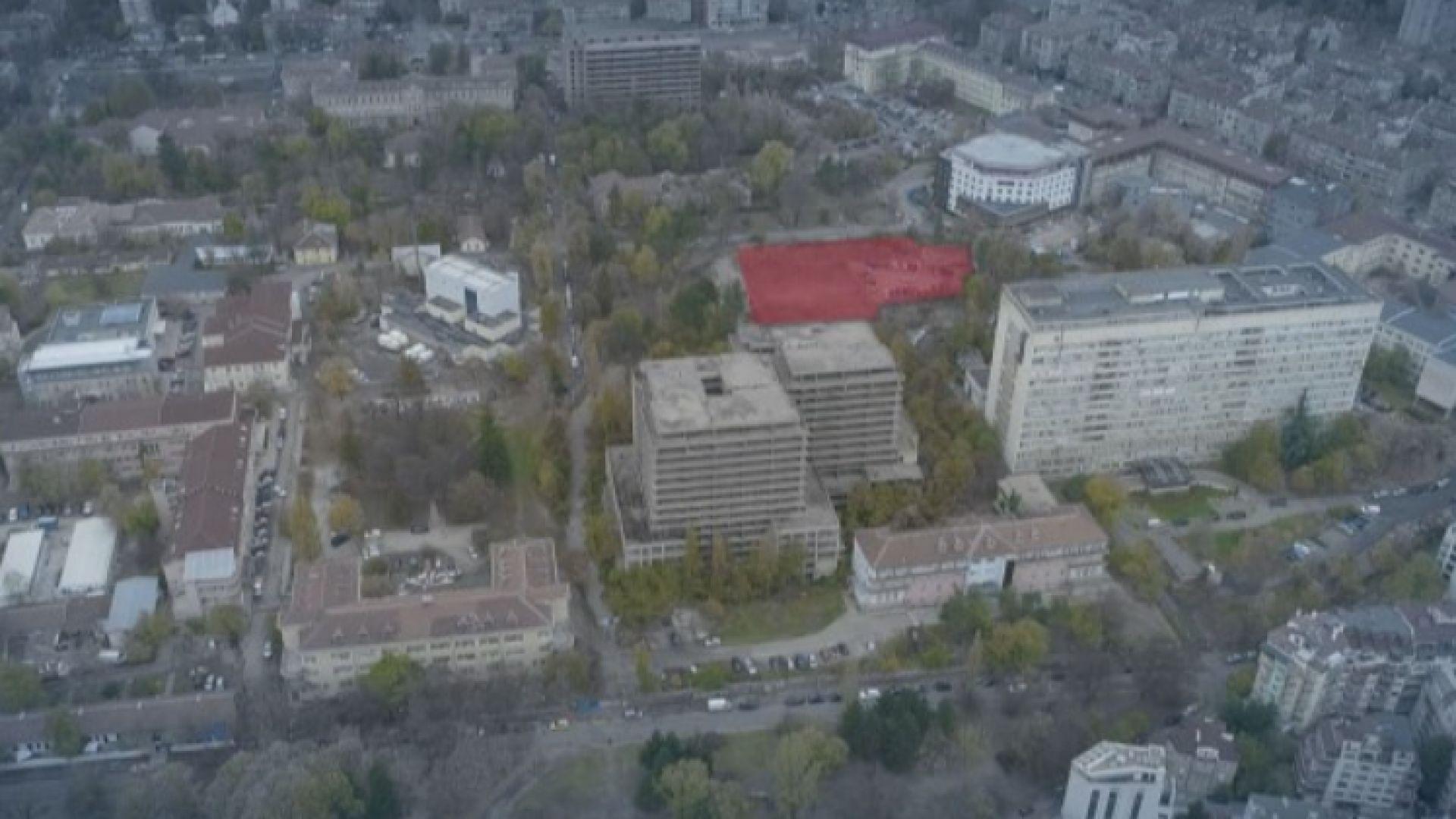 Прокуратурата проверява конкурс за 180 000 лева за сградата на Медицинския университет