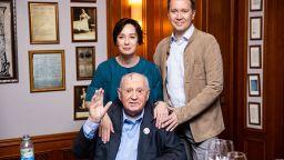 Михаил Горбачов посети предпремиерно представление, посветено на него
