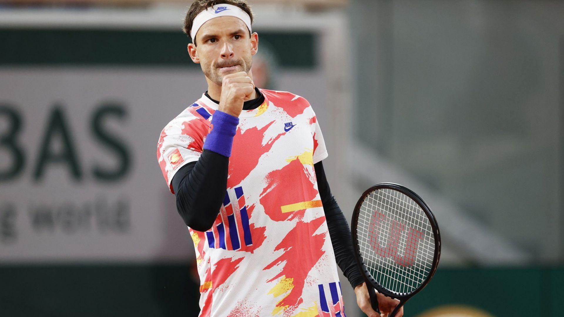 Милош Раонич се отказа, Гришо отива на полуфинал в Антверпен