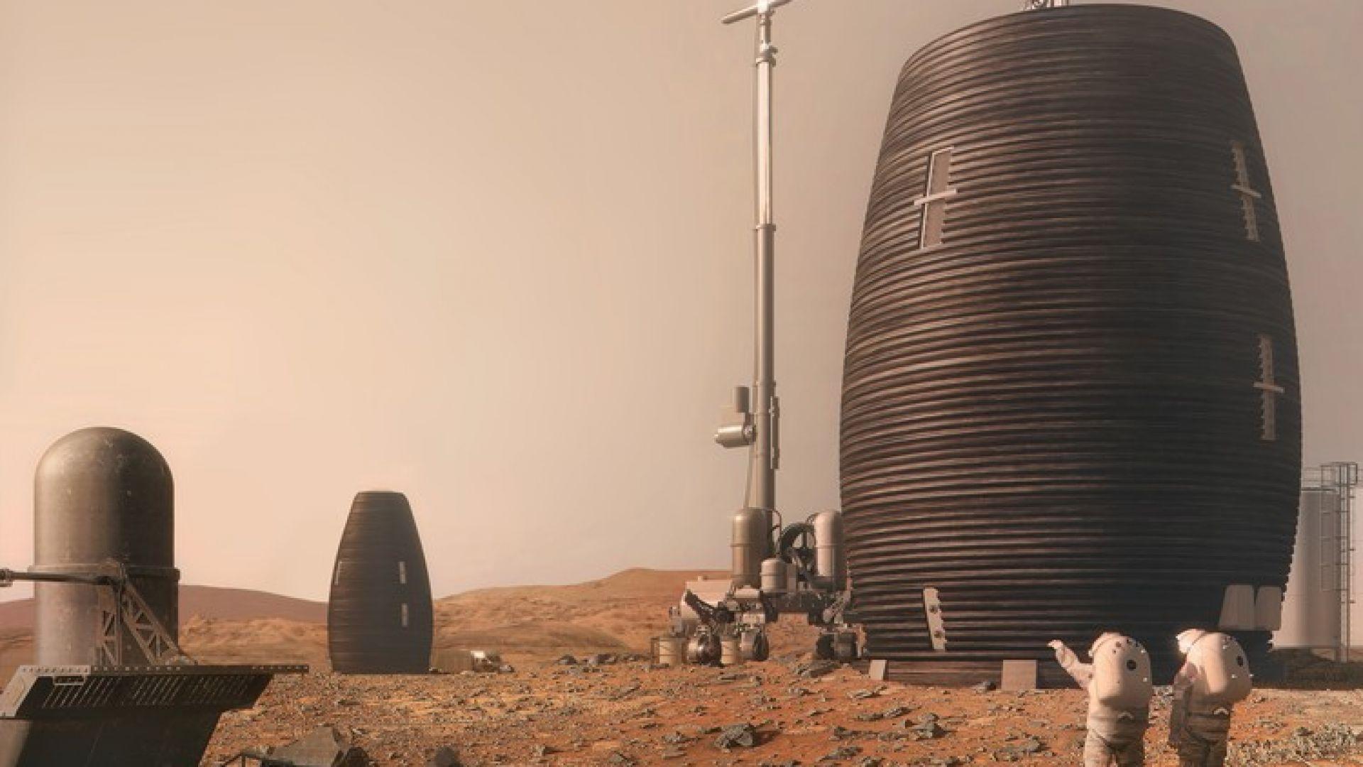 НАСА ще прави жилища на Луната и Марс с 3D принтер