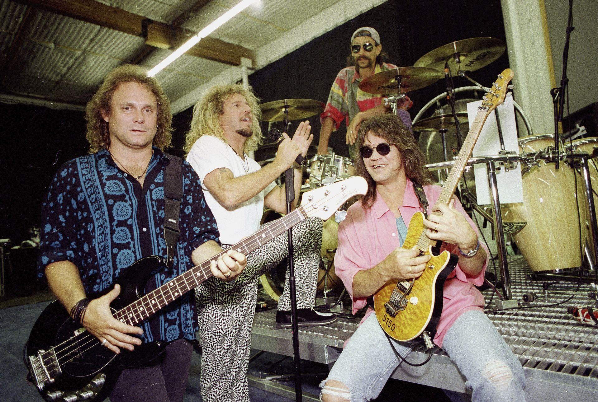 На концерт през 1993 г.