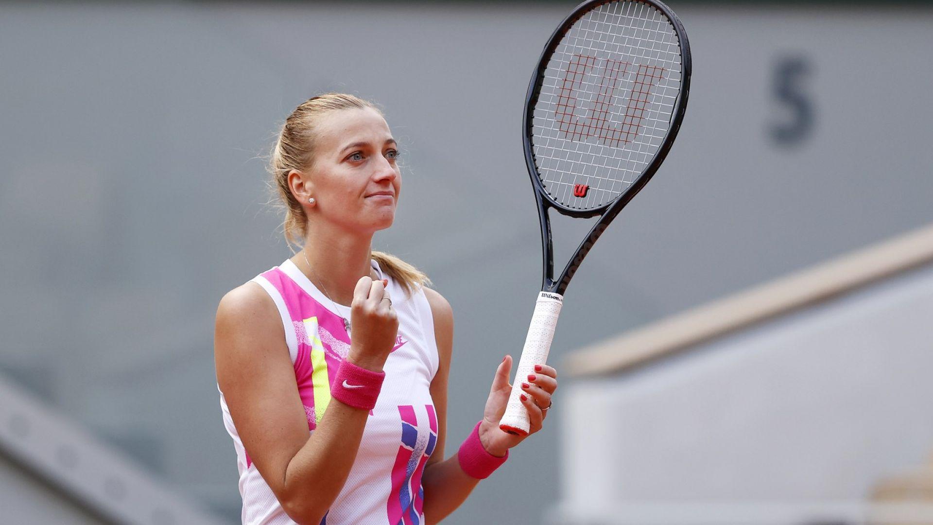 Петра Квитова бе неудържима и на четвъртфиналите
