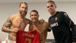 """""""Приятелите"""" Роналдо и Рамос приключиха 2-годишна вражда"""