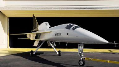 Показаха прототип на свръхзвуков пътнически самолет