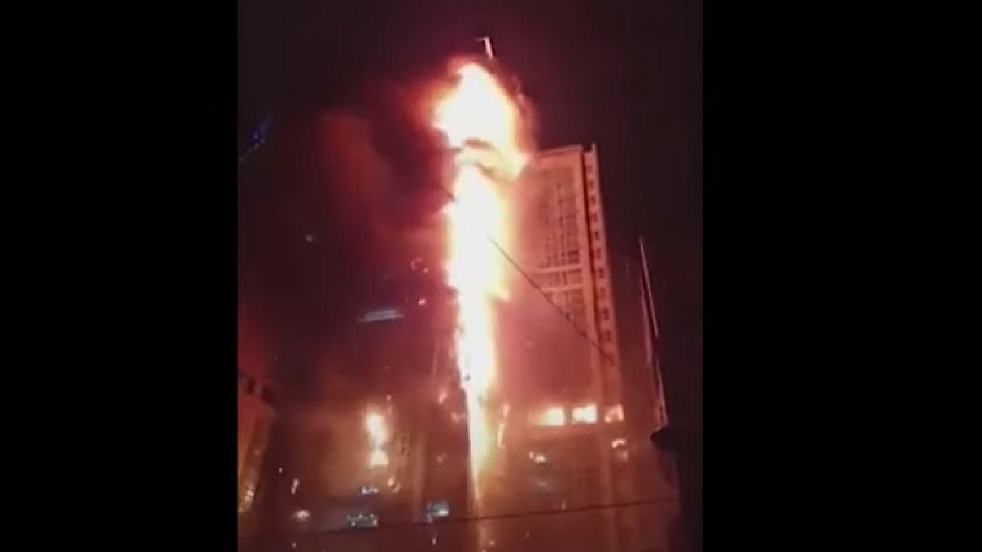 Десетки ранени при пожар в 33-етажна жилищна сграда в Южна Корея