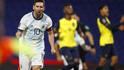 Меси поведе Аржентина към Мондиала и изравни постижение на Роналдо