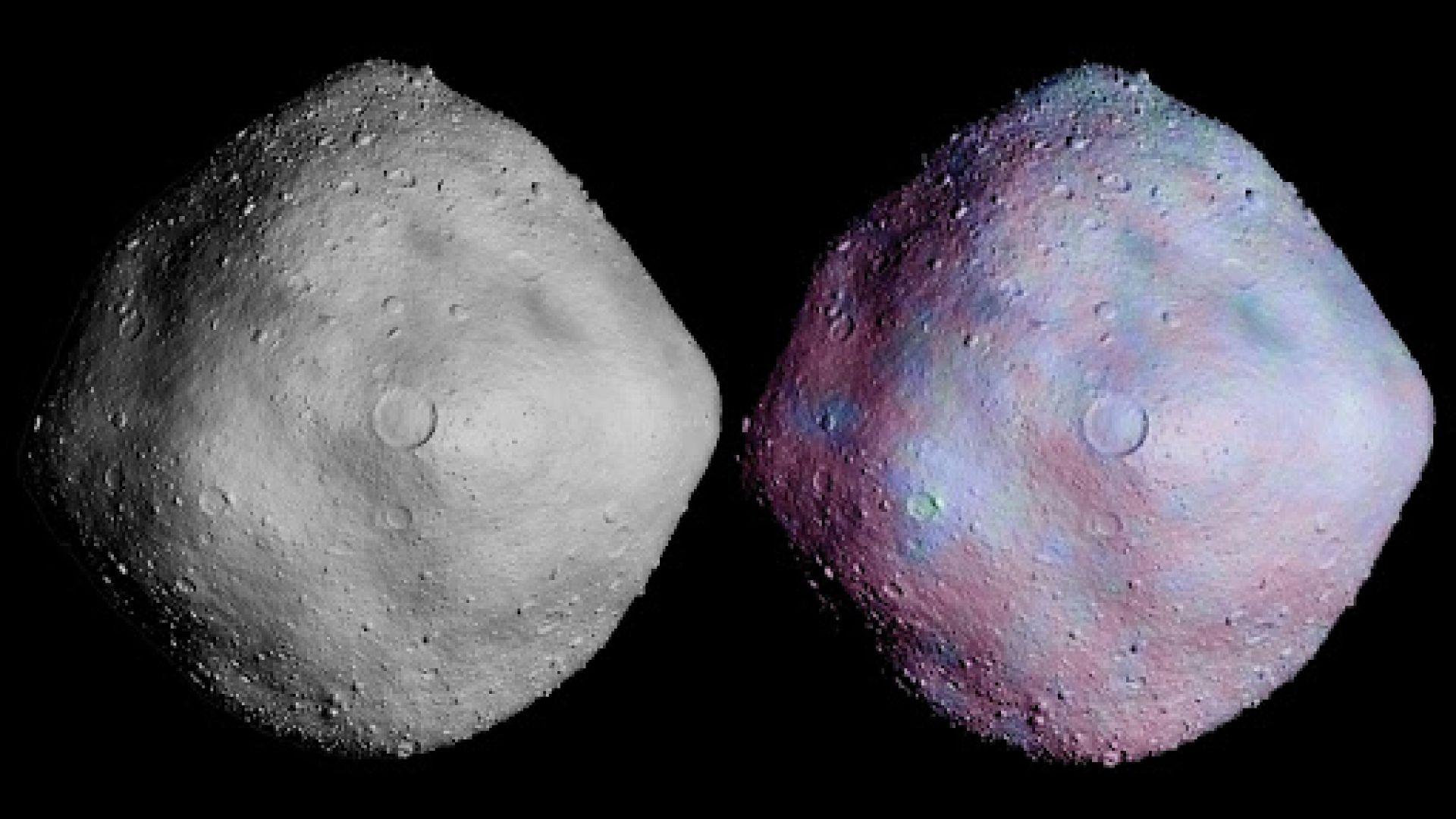 Откриха следи от древна река на ... астероид