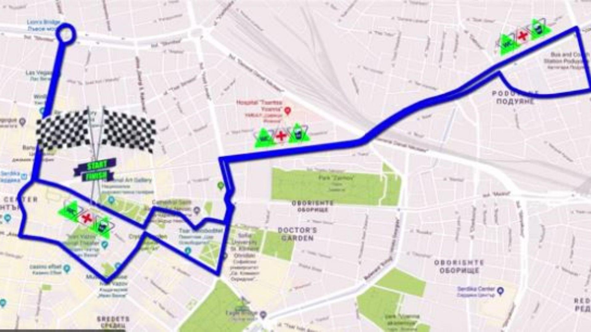 Маратонът на София започва в неделя, 9.30 часа: как ще се движи транспортът