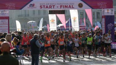 Грозна случка на Софийския маратон - мъж умишлено избута сръбска фаворитка за победата