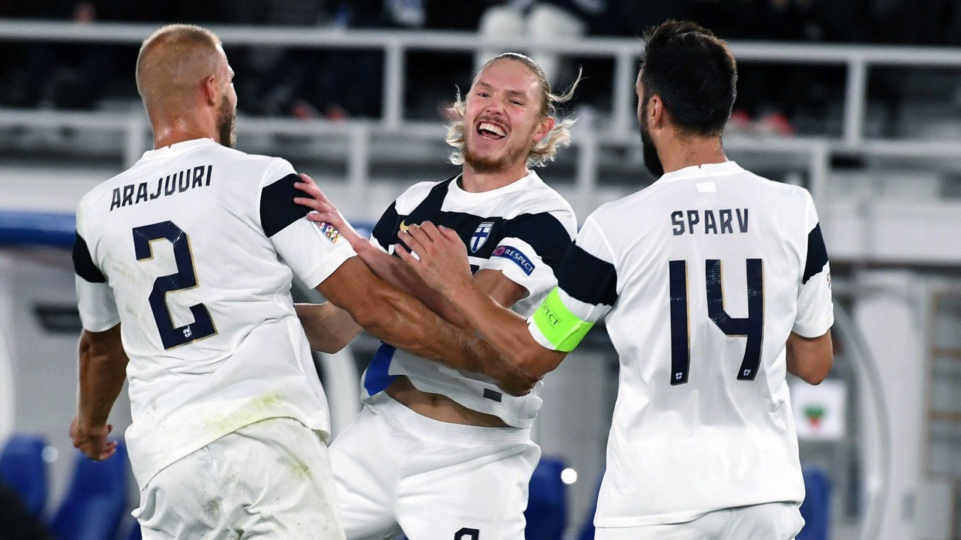 Финландия идва с увереност, че ще продължи тежката футболна година на България