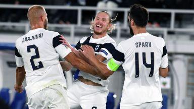 България с нова загуба, Финландия ни би на футбол за първи път в историята