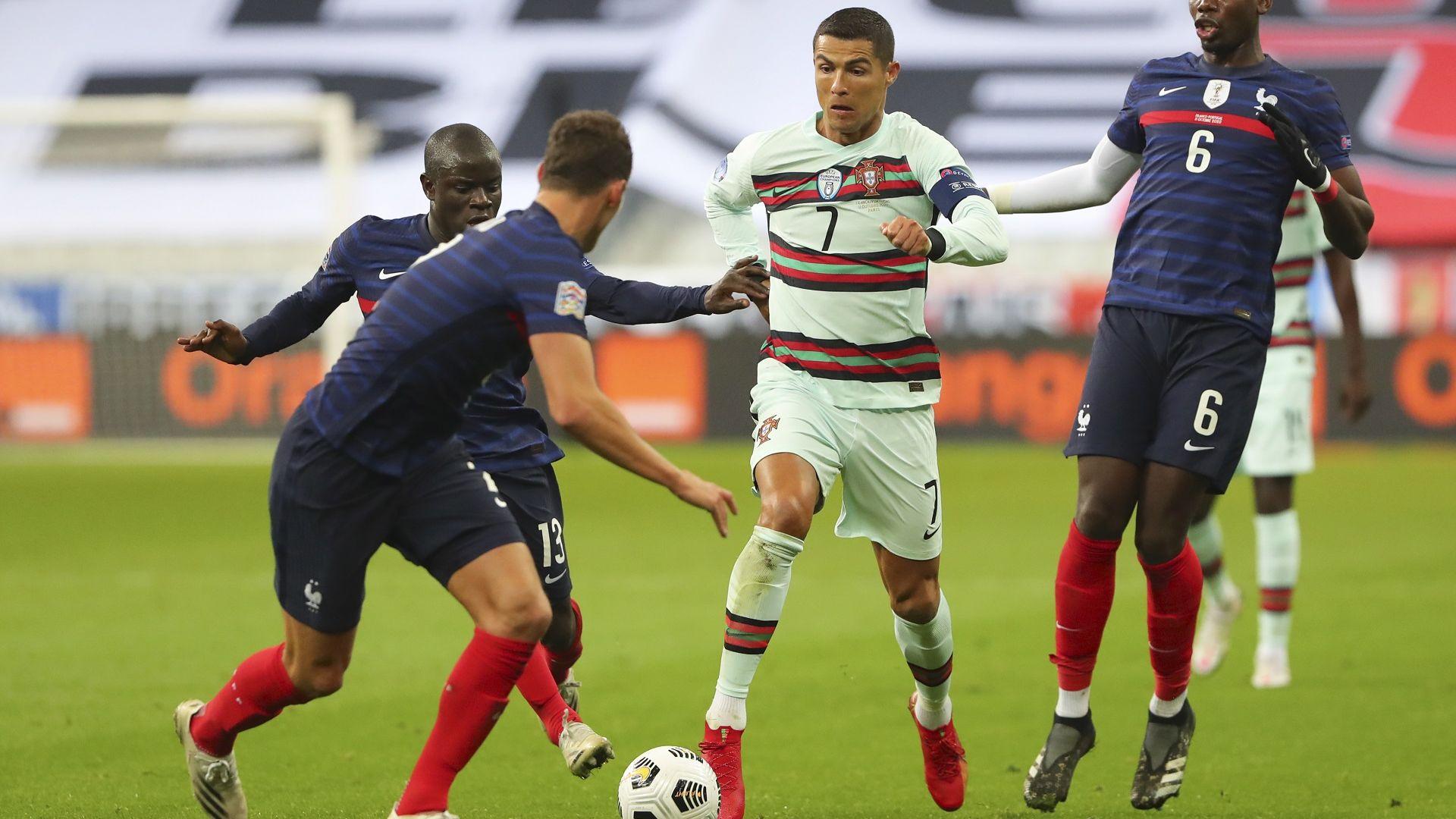 """Две нули и разочарование в """"дербито"""" между Франция и Португалия (резултати)"""