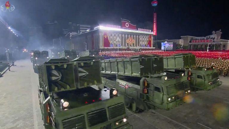 Новата ракетна артилерия на Пхенян