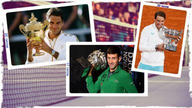 """Ново гориво във """"вечния"""" дебат: Кой е №1 сред тримата най-големи в тениса?"""