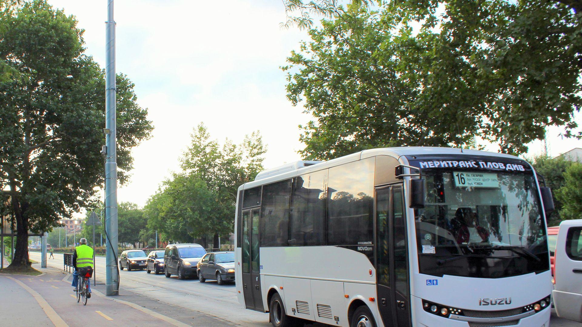 Спират малките автобуси в градския транспорт на Пловдив
