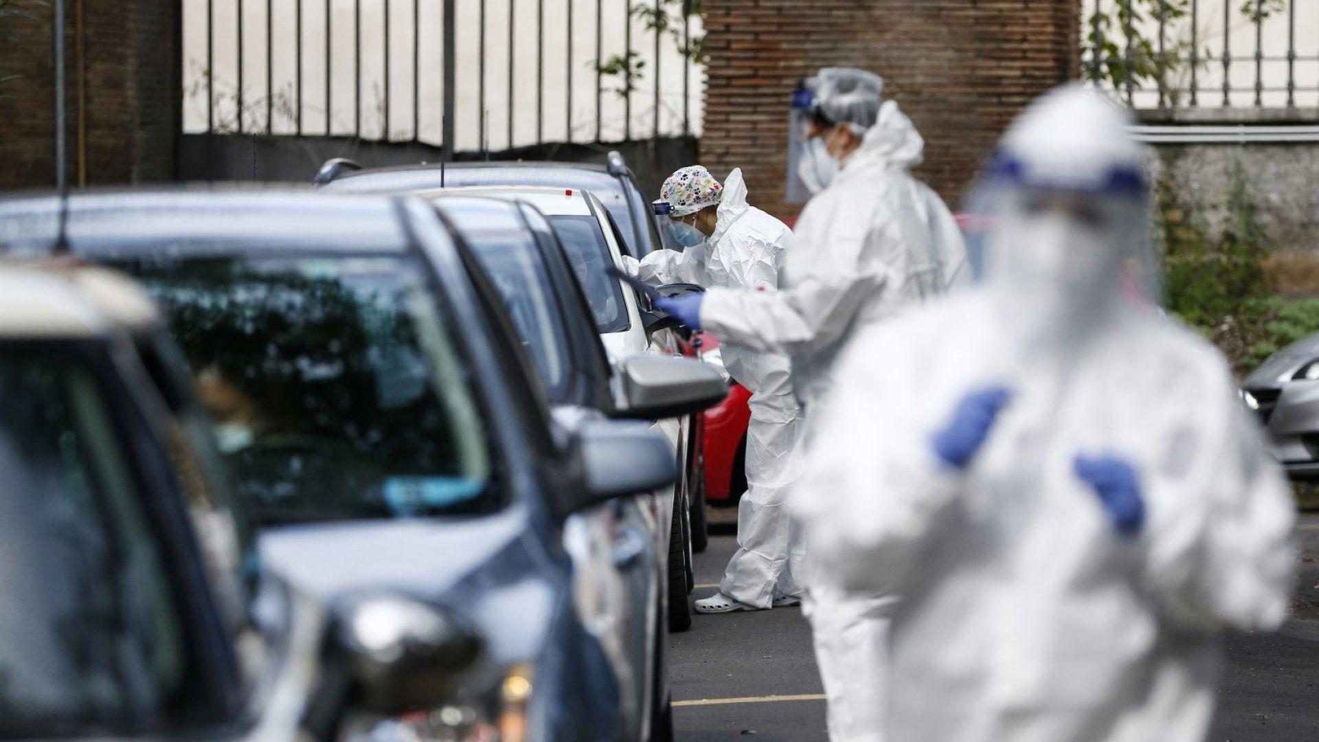 Почти 30 000 медици са се заразили с коронавирус за месец в Италия
