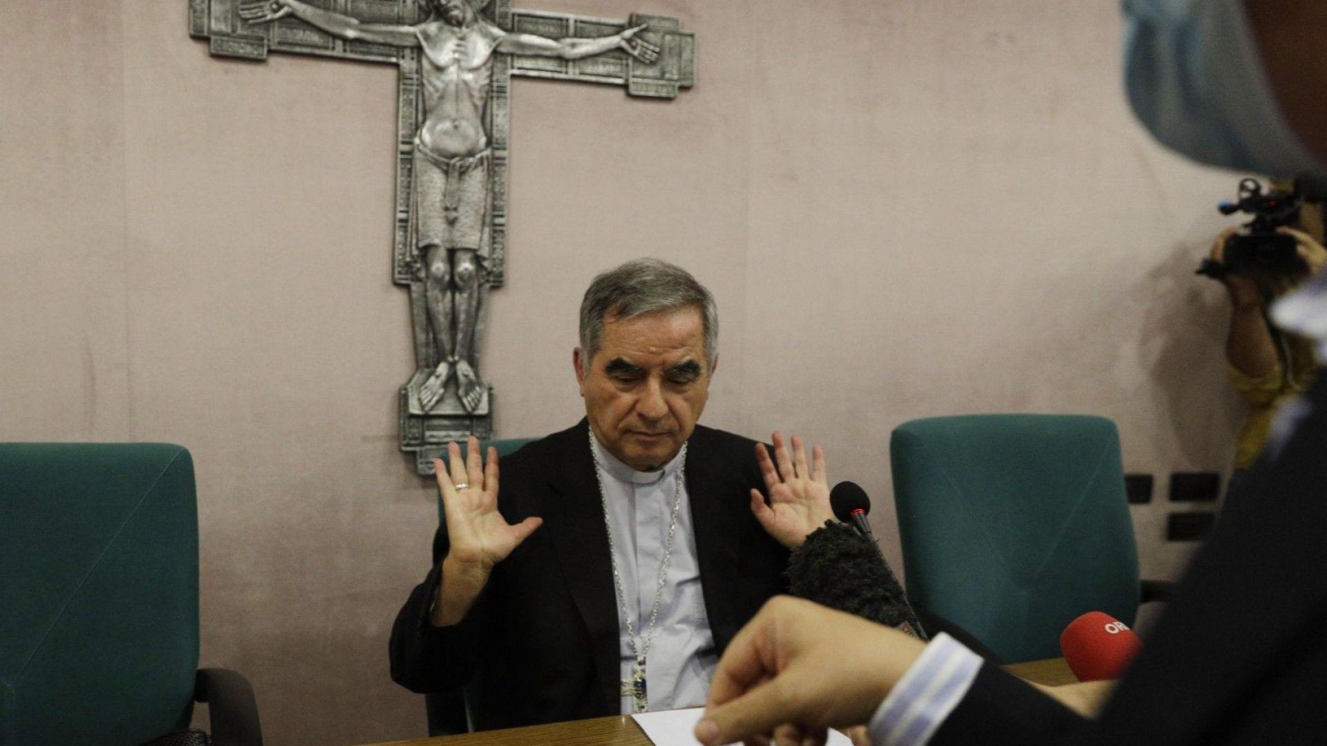 """Арестуваха """"Дамата на кардинала"""" за присвояване на €500 000 от Ватикана"""