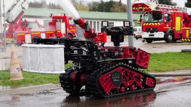В САЩ започна работа първият робот пожарникар