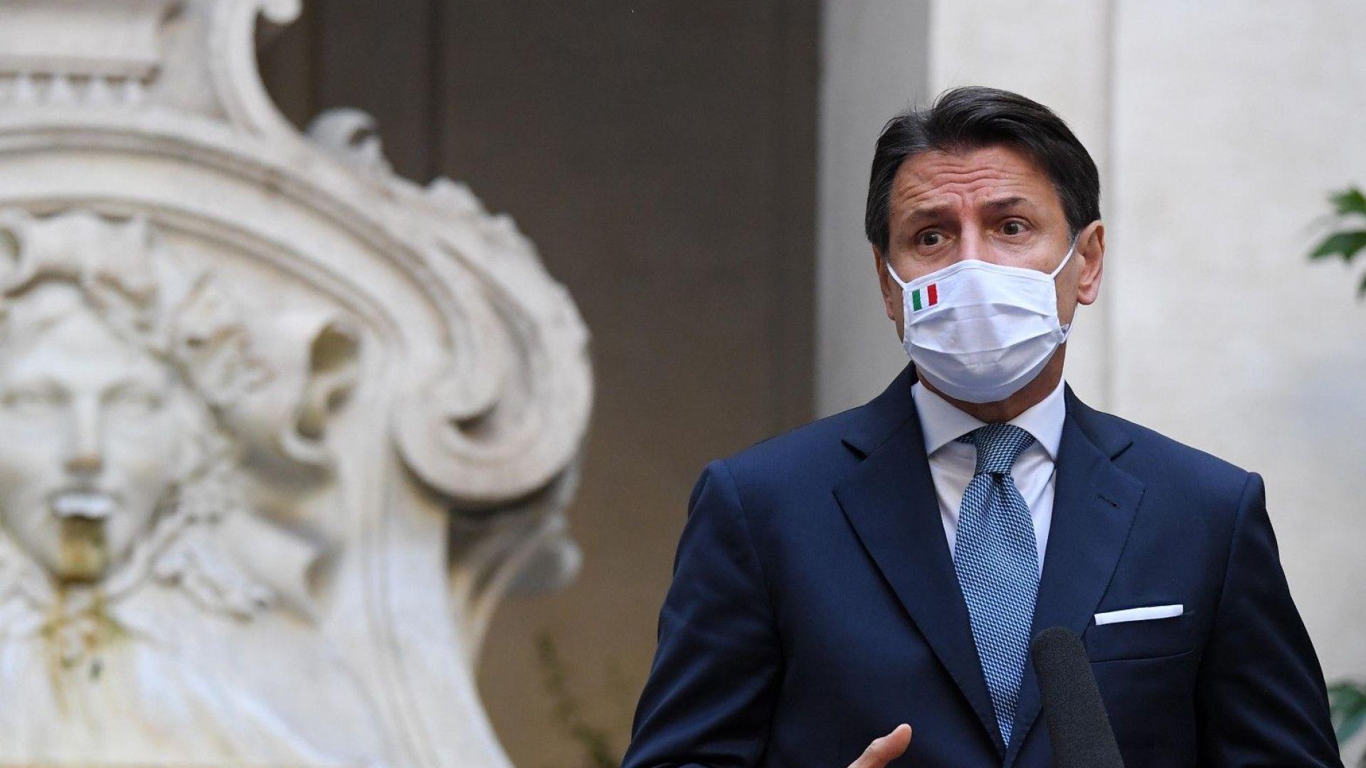 €223-милиарден възстановителен план може да пробие кабинета на Конте