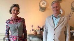 Кралят на Белгия се срещна за първи път с извънбрачната дъщеря на баща си