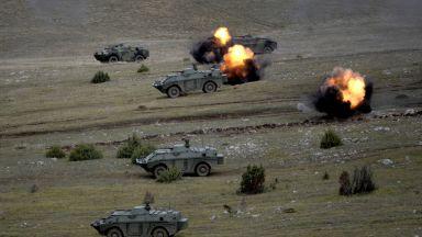Сръбската армия проведе мащабно учение (видео)
