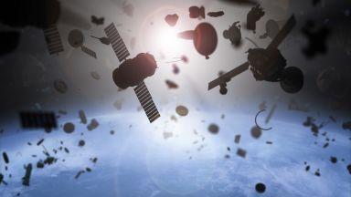 7 хиляди тона космически отломки кръжат около Земята