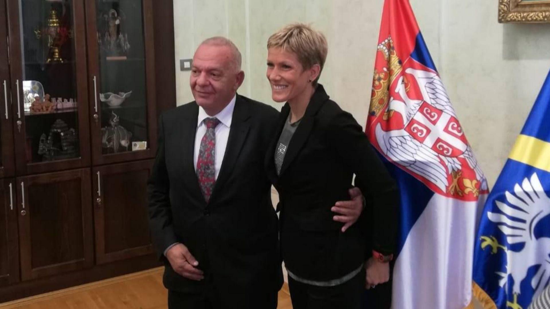 Блъснатата сръбска лекоатлетка: Видях колко истински приятели имам в България