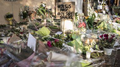 Убиецът на френския учител качил в Туитър снимка на тялото му и послание