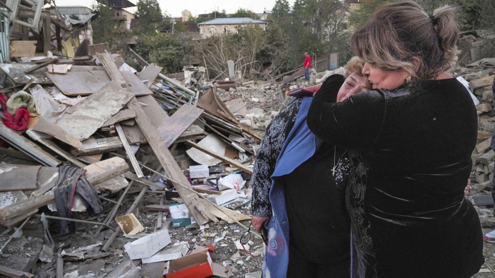 Хуманитарното примирие в Нагорни Карабах издържа само 4 минути