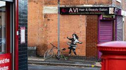 Банкси потвърди авторството на нова творба в Нотингам