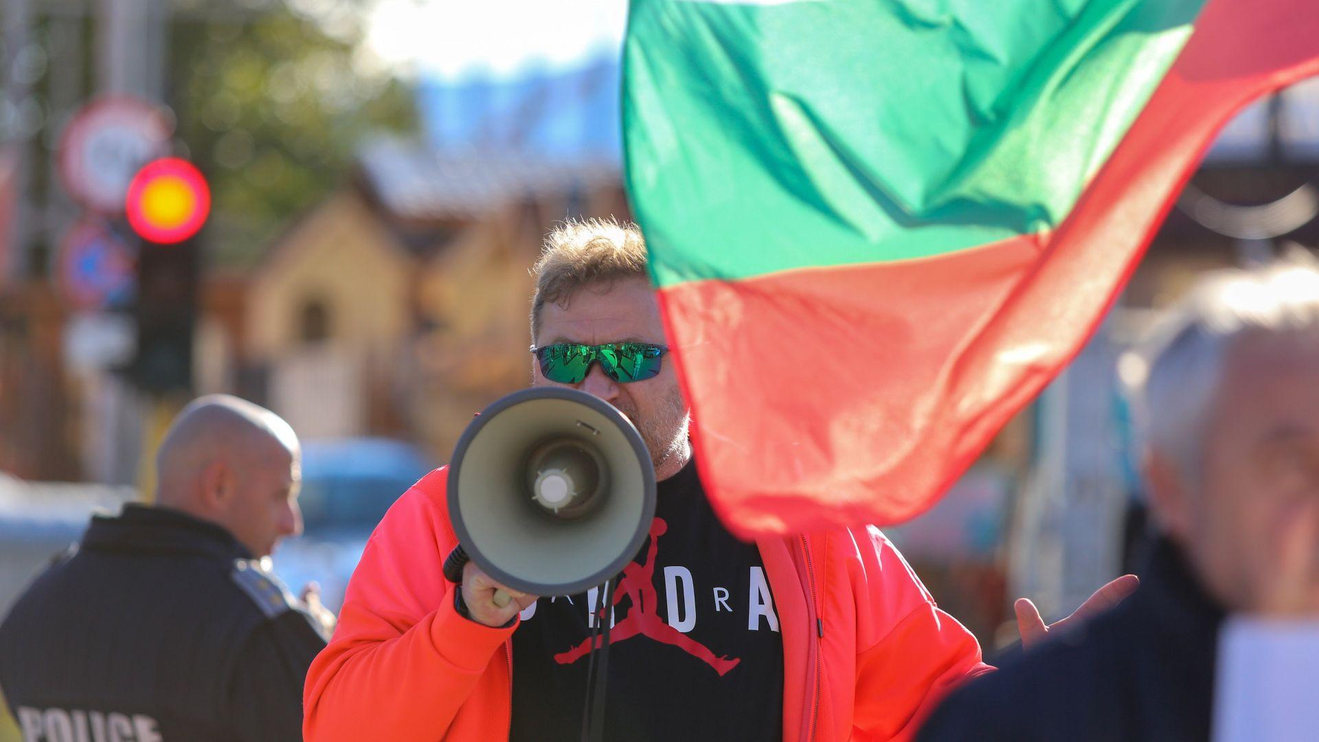 """Горублянци блокираха """"Цариградско шосе"""" (снимки и видео)"""