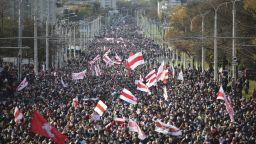 Хиляди на Партизански марш в Минск, над 200 арестувани