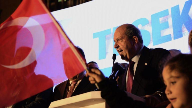 Националистът Ерсин Татар, подкрепян от Турция, беше избран вчера за