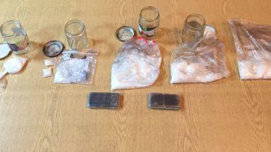 Арестуваха служител на траурна агенция с близо 1 кг кокаин