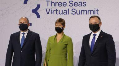 """Румен Радев прие домакинството на инициативата """"Три морета"""" от Естония"""